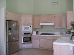 Painting Wood Laminate Kitchen Cabinets Kitchen Beautiful U Shape Kitchen Design Using Pastel Light Green