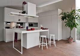 petit ilot central cuisine cuisine design blanche en 50 idées élégantes kitchens and house