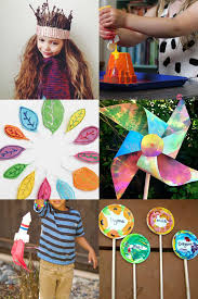 summer holiday garden crafts for kids mollie makes