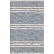 lexington swedish blue ivory indoor outdoor rug dash u0026 albert
