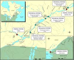 St Lawrence River Map Water Quality Of The Fluvial Sector Plan D U0027action Saint Laurent