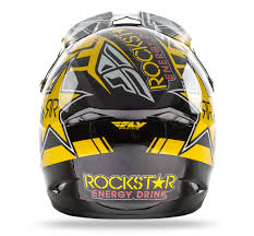 ufo motocross helmet fly racing 2016 kinetic pro rockstar mx helmet available at
