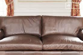 canapé cuir grand canapé cuir sanary format large et confort pib