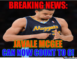 Javale Mcgee Memes - javale mcgee can count by jp715 meme center