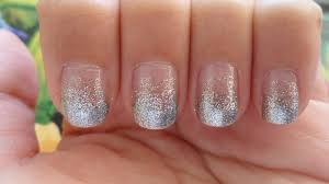 will work for makeup glittery gradient nails