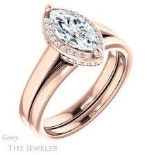 marquise cut diamond ring marquise cut engagement ring setting gtj1284 marquise r gerry