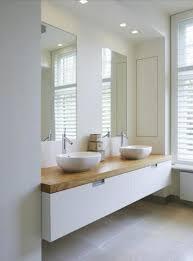 Rosa Beltran Design ORGANIC MODERN BATHROOM DESIGN Thick Wood - Organic bathroom design