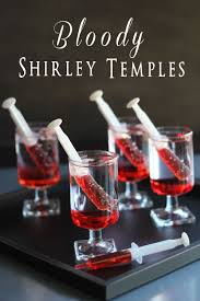 Cheap Halloween Appetizers by Bloody Shirley Temples Tgif This Grandma Is Fun