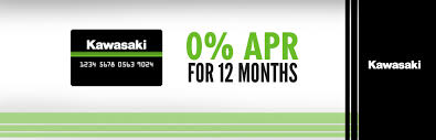 logo kawasaki kawasaki kawasaki card offer 0 apr for 12 months sander u0027s