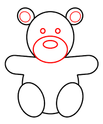 coloring appealing drawing bear draw teddy 5 coloring
