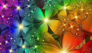 Flower Wallpaper Rainbow Flower Wallpaper Wallpapersafari
