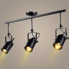 Led Track Lighting Heads Retro Industrial Loft Vintage Led Track Light Online Lighting