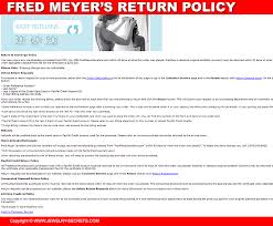 fred meyers wedding registry jewelry store s return policies jewelry secrets
