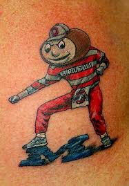brutus buckeye checkmyink the game pinterest buckeyes and