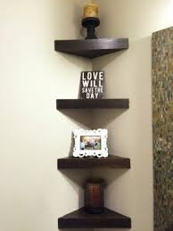 Wooden Shelves Pictures by Wooden Corner Shelves Foter