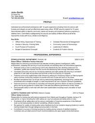 click here to download this peace officer resume template http