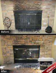 clean glass fireplace doors chimney rx paint n peel fireplace cleaner chimney rx
