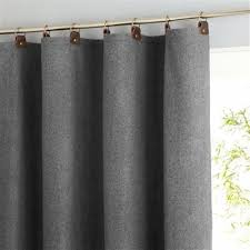 Curtains With Tabs Curtains Leather Tabs Curtains Railings Wool Mixed Curtains