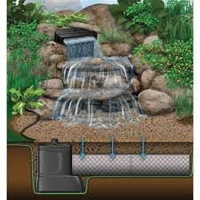 Aquascape Water Features Aquascape Large Pondless Disappearing Waterfall And 26 Ft Stream