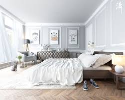 Scandinavia Bedroom Furniture Scandinavian Bedroom Decor Ideas With And White Color