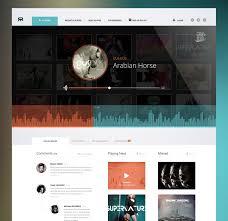 online radio concept by cosmin capitanu digital design u2014gui