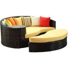 wicker patio daybed garden furniture