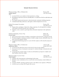 College Application Resume Sample by Ideas Collection Sample Resume College Application On Example