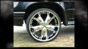 Ford Explorer Rims - ford explorer 24 inch custom rims diamo chrome mag wheels youtube