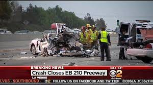 sigalert issued in deadly accident on 210 freeway in la verne la