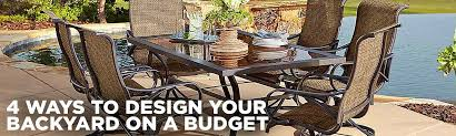 Ways To Design Your Backyard On A Budget Sears - Designing your backyard