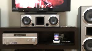 subwoofer sony home theater sony muteki home theatre ht ddw1000 6 2 canais 1 000 rms youtube