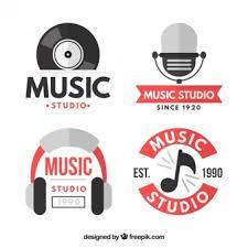 imagenes logos musicales logotipo de musica fotos y vectores gratis