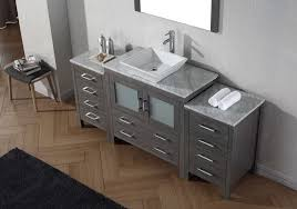 virtu usa 72 inch dior bathroom vanity zebra
