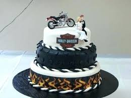 harley cake topper harley davidson cake toppers for birthday fondant unique motorbike