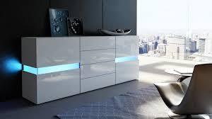 Buffet avec led blanc laqué 177 cm pour Buffets design a 620 39 €