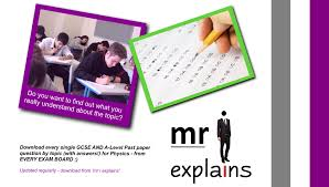 every gcse and a level physics past paper question by topic with