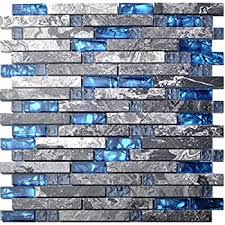 blue glass tile kitchen backsplash blue gentle grey glass tile for kitchen