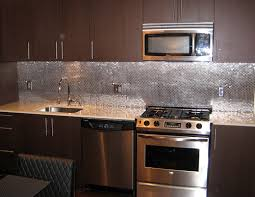 kitchen with stainless steel backsplash stainless steel kitchen backsplash inspiring 24 kitchen stainless