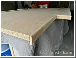 Diy Kitchen Countertop Ideas by Do This Plywood Countertop Stained And Sealed For The Kitchen