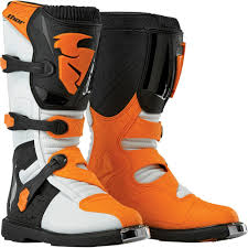 closeout motocross boots thor 2015 blitz mx boots white orange wide selection of thor 2015