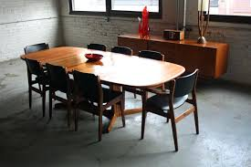 Modern Dining Room Sets For 8 Mid Century Modern Dining Tables U2013 Thelt Co