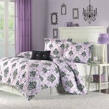 Damask Comforter Sets Purple And Black Damask Bedding Interiors By Color