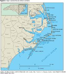 america map carolina map of carolina coast of beaches rivers and lakes and