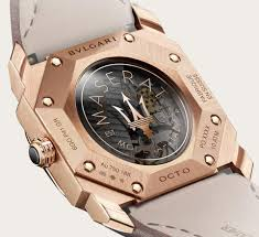 rose gold maserati car bvlgari collaborates with maserati for two special edition octo