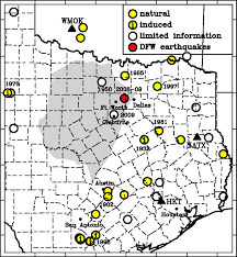 Dallas Fort Worth Area Map by The Dallas U2013fort Worth Earthquake Sequence October 2008 Through