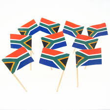 What Colour Is The South African Flag South African Flag Toothpicks South Africa Theme Party