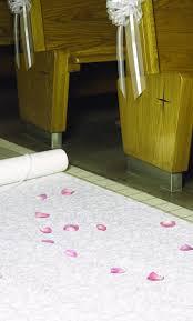 white aisle runner white floral aisle runner wedding aisle runners