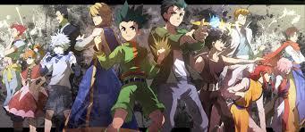 hunter x hunter hunter x hunter facebook cover zerochan anime image board