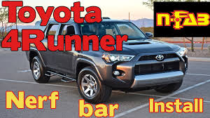 toyota 4runner bars n fab nerf bars 2016 toyota 4runner trail t1464r