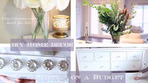 how to home room decor ideas on a budget youtube